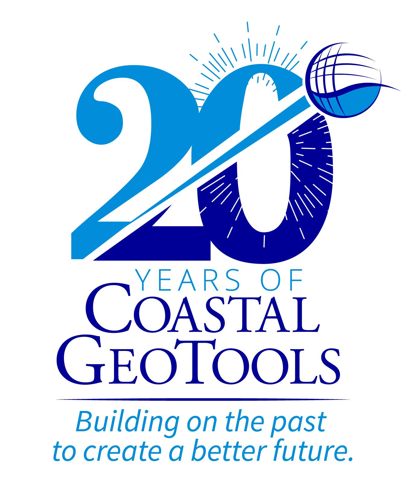 GeoTools 20 Year Logo